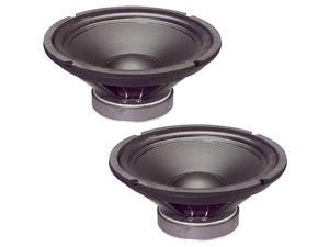 "2 Goldwood Sound GW-1038 Rubber Surround 10"" Woofers 250 Watts each 8ohm Replacement Speakers"