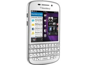 Blackberry Q10 SQN100-1 WHITE 16GB Unlocked GSM Dual-Core Smartphone w/ 4G
