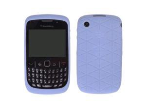 Xentris Embossed Skin Case for BlackBerry Curve 8520, 8530, 9300, 9330 Curve 3G - Kandor Frost