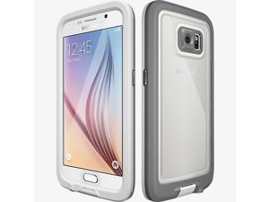 LifeProof FRE Case for Samsung Galaxy S6 - Avalanche (White/Gray)
