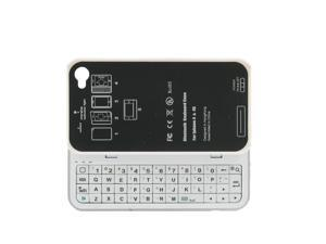 Naztech Bluetooth Keyboard for Apple iPhone 4/4S - White