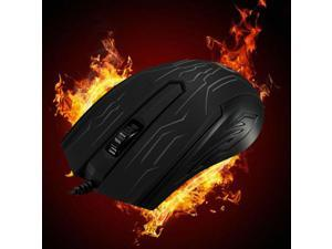 2.4GHz USB Wired LED Backlit Optical Standard Office Mouse Mice For Windows Mac