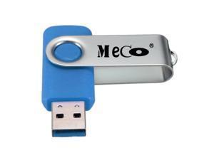 MECO 8GB USB 3.0 Flash Memory Foldable Drive Storage Thumb Stick Swivel Design