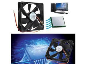 3 Pin 120mm 25mm Cooler Fan Cooling Heatsink Cooler Radiator For Computer PC CPU 12V