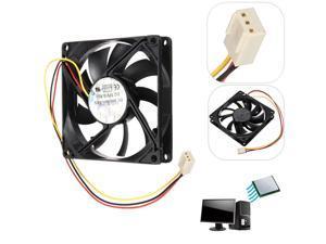 12V 3 Pin Internal Desktop Computer CPU Case Cooling Cooler Silent Fan For PC 5cm