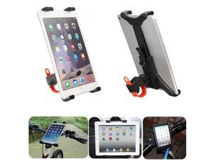 "Bicycle Microphone Stand Mount Holder Cradle For iPad Air 2 Mini 4 7-11"" Tablet Samsung Galaxy Tab 10.1 Amazon Kindle Fire HD 7/ 8/9 Microsoft Surface"