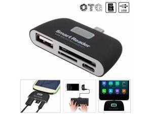 OTG Micro USB SD TF MMC Card Reader USB 2.0 Adapter Connector For Samsung S7 S6 Edge