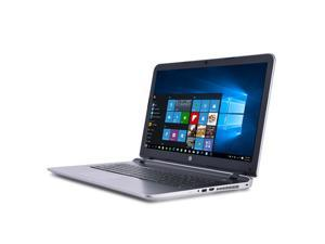 HP Pavilion N9E13UA 17-g121wm Laptop PC - AMD A10-8700P 1.8 GHz Dual-Core Processor - 8 GB DDR3L SDRAM - 1 TB Hard Drive - 17.3-inch Display - Windows 10 Home 64-bit - Silver