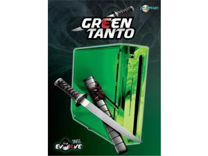 Talismoon Evolve Replacement Full Case Housing for Nintendo Wii Green Tanto