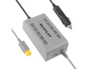 Maxbuy MaxPlay Car Power DC 12V Adapter Power Supplier with USB Charge for Wii U