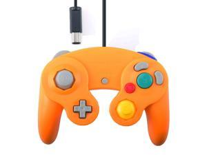 Vibration Joypad Controller for Wii GameCube GC Orange