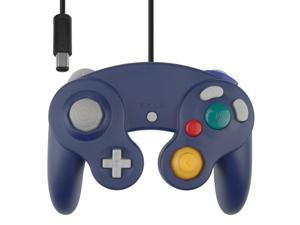 Vibration Joypad Controller for Wii GameCube GC Violet