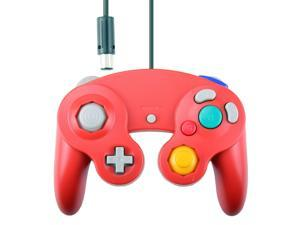 Vibration Joypad Controller for Wii GameCube GC Red