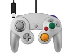 Vibration Joypad Controller for Wii GameCube GC Silver