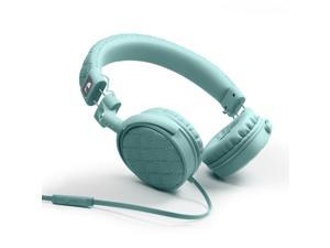 Nakamichi NK600 Series On-The-Ear Headphones with Mic - Retail Packaging - Jade