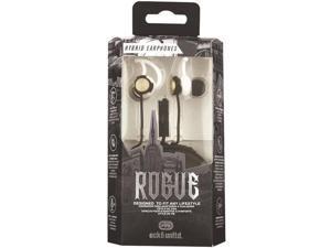 ECKO EKU-ROG-WHT Rogue Hybrid Earbuds (White)