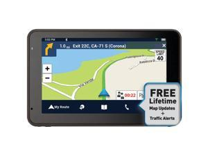 "Magellan Roadmate 5465t-lmb 5"" Gps Device With Bluetooth & Free Lifetime Map & Traffic Updates"