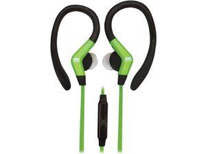 Ecko Octane Sport Hook Earbuds With Microphone (green)