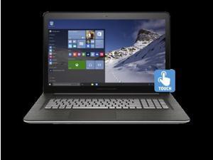 HP ENVY - 17t Touch(Windows 10, 6th Gen. Intel i7-6700HQ Quad Core, 16GB RAM, 2TB HD, 4GB NVIDIA GTX 950M, IPS Full HD, AC Bluetooth, 62WHr Battery, Backlit Keyboard) Laptop Notebook PC Computer n100