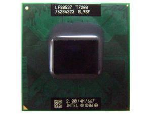Intel Core2 Duo Processor T7200 2.0GHz 4MB Socket M 478-pin laptop CPU