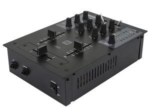 2-Channel DJ Mixer with USB