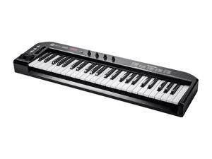 49-Key MIDI Keyboard Controller - Black
