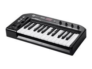 25-Key MIDI Keyboard Controller - Black