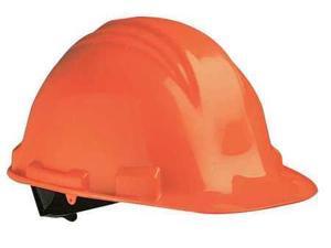 Orange Safety Cap Poly Shell 6 Pt Ratch. Suspens