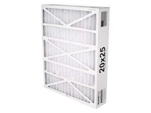 BESTAIR PRO AB-31625-8-2 Air Cleaner Filter, 25x16x3, MERV8, PK2