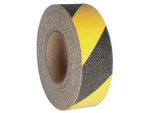 JESSUP MANUFACTURING 3360-2 Antislip Tape,Black/Yellow,2 In x 60 ft.