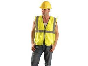OCCUNOMIX ECO-GCS-YS/M High Visibility Vest, Class 2, Yellow, S/M