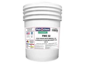 PETROCHEM FOOSAFE FMO 32-005 Mineral Hydraulic Oil, Food Grade, 5 gal.