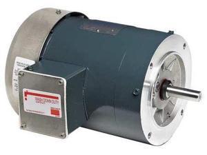 MARATHON MOTORS 5K49MN4618X Pump Motor, 3-Ph, 1 HP, 1725, 230/460, 56C