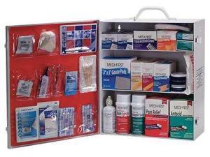 MEDI-FIRST 745M1 First Aid Kit, Bulk, White, 30 Pcs, 150 Ppl