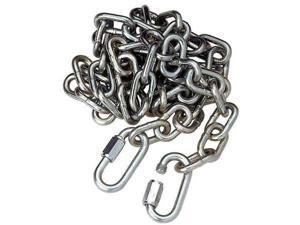 REESE 74059 Safety Chain, 72in., Steel, Metallic Silver