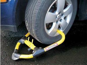CALIFORNIA IMMOBILIZER CI00520 Anti-Theft Wheel Lock, Adjustable