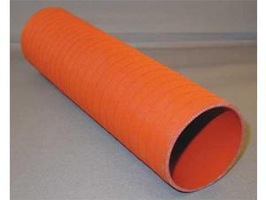 DAYCO 7701-400 Turbo Sleeves,ID 4 In,OD 4.32 In,Red