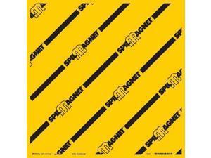 BRADY 31111LS Drain Cover, Yellow, 24 In W x 24 In L