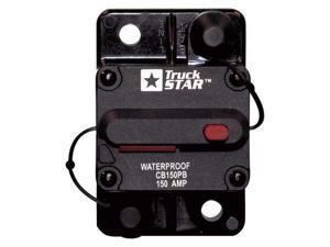 BUYERS PRODUCTS CB150PB Circuit Breaker, Hi-Amp, Black