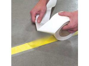 INCOM MANUFACTURING FTL300 Floor Marking Tape, Roll, Clear, 3 in. W