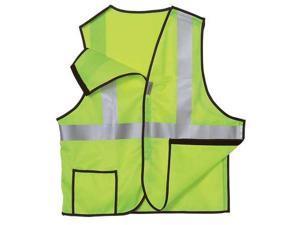 OCCUNOMIX LUX-SSBRP-YM Breakaway Hi Vis Vest, Class 2, M, Yellow