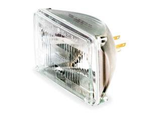 GE LIGHTING H4651 Halogen Sealed Beam Lamp,165mm,50W