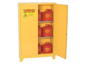 Flammable Liquid Safety Cabinet, Yellow ,Eagle, 1962LEGS