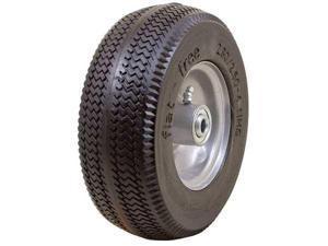 MARATHON 00026 Flat Free PU Wheel, 2.80/2.50-4, 275 lb.