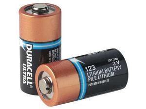 DURACELL ULTRA DL123A Battery,123,Lithium,3V,PK 10
