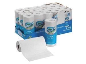 Sparkle 2717714, Pick-A-Size Perforated Roll Towel, White, 8 4/5 x 11, 85/Roll, 15 Roll/Carton