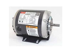 DAYTON 3K091 Motor, 1/4 HP, 1725 RPM, 115/208-230 V