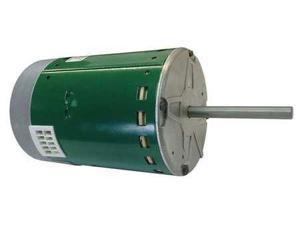 GENTEQ 6107E Electric Motor, ECM, Open Air-Over, 3/4 HP
