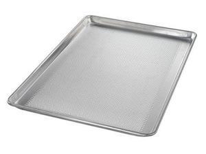 CHICAGO METALLIC 44890 Sheet Pan, Perf. Aluminum, 18 Gauge