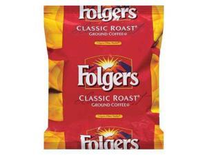 FOLGERS 25500-06239 Coffee Packet, Regular, 0.9oz, PK40